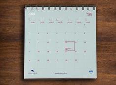 Desktop Calendar Desktop Calendar, Marketing Materials, Printed Materials, Layout Design, Typography, House Design, Graphic Design, Letterpress, Letterpress Printing