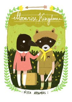 Moonrise Kingdom - Their alter-egos. Very cute.