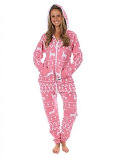 Ugly Christmas Sweater Party - Fair Isle Pink Adult Jumpsuit Size XXS Tipsy Elves http://www.amazon.com/dp/B00KSFCERY/ref=cm_sw_r_pi_dp_qk.yub1E9GKM8