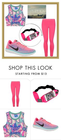 """Untitled #72"" by lovee-green ❤ liked on Polyvore featuring STELLA McCARTNEY, adidas Originals, NIKE and Trademark Fine Art"