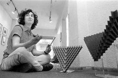 Alba Rojo Cama, la matemática escultora