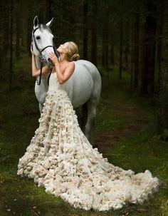 Wedding + Horse