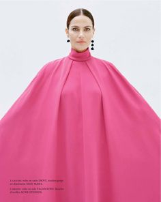 Rouge de Rose - Missy Rayder by Jody Rogac for Marie Claire France March 2017 - Valentino