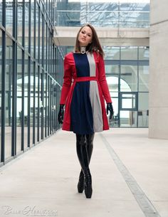 Fetish Fashion, Latex Fashion, Fashion Models, High Fashion, Ballet Boots, Ballet Heels, Fashion Shoot, Editorial Fashion, Alexandra Potter