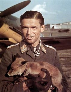 ✠ Hans Philipp (17 March 1917 – 8 October 1943) believed that he was shot down by a P-47.