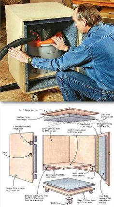 Shop Vac Silencer - Dust Collection Tips, Jigs and Fixtures   WoodArchivist.com