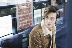 Tdrama actor, Baron Chen Baron Chen, Chinese Man, Thai Drama, Bigbang, Kdrama, Beautiful People, Music Videos, Idol, Bomber Jacket