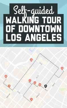 Want to know the best things to do in DTLA? Here's a self-guided walking tour of Downtown Los Angeles! / A Globe Well Travelled