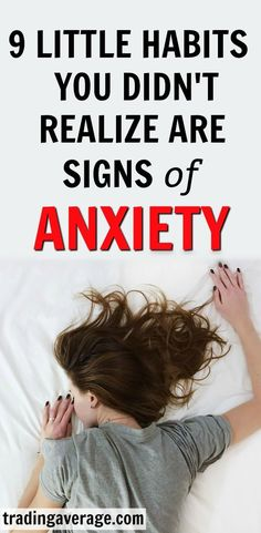 Health Inspiration Do you think you have anxiety, but are looking for some key signs? This article will give you 9 little habits that you show you that you may have anxiety and didn't even know it! Health Anxiety, Anxiety Help, Social Anxiety, Stress And Anxiety, Do I Have Anxiety, Anxiety Cure, Calming Anxiety, Health, Mental Health