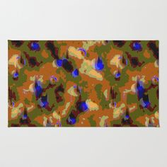 This canvas camouflage pattern is designed for those times when you want to be noticed.