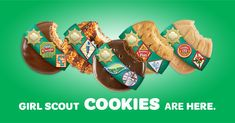 Girl Scout Cookies — Girl Scouts of Greater Chicago and Northwest Indiana Girl Scout Swap, Girl Scout Leader, Girl Scout Troop, Boy Scouts, Cookie Money, Cookie Time, Cookies Website, Selling Girl Scout Cookies
