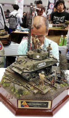 Pin by Al on New diorama Tamiya Model Kits, Tamiya Models, Diorama Militar, The Modelling News, Rc Tank, Military Action Figures, Modeling Techniques, Model Tanks, Military Modelling