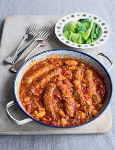 Sausage and Beer Casserole - The Happy Foodie