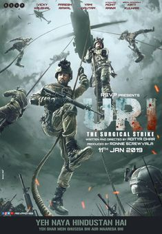 Télécharger Uri: The Surgical Strike Streaming VF 2019 Regarder Film-Complet HD # # Movies 2019, New Movies, Movies Online, Movies Free, New Hindi Movie, Hindi Movies, Yami Gautam Movies, Films Hd, Film D'action