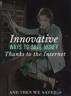 Using the Internet, saving money is a real breeze nowadays; you can use any of several methods, and it doesn't take that long to master any of them. Here are some of the ways I've used the Internet to cut down on expenses and get some great deals.   AndThenWeSaved.com
