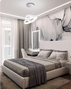 """Exceptional """"cheap home decor ideas"""" info is offered on our web pages. Bedroom Bed Design, Home Room Design, Bedroom Furniture Design, Girl Bedroom Designs, Modern Bedroom Design, Home Decor Bedroom, Bedroom Wall, Home Interior Design, Bedroom Styles"""