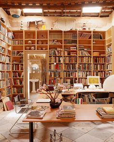A diff way to go - in Sydney there is a bookstore/cafe.. though thats kind of a lot ot deal with