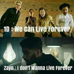 So what Z? You decided to just up and leave the boys because you don't wanna live forever? ://
