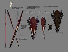 Lightning's Sword & Shield from Lightning Returns: Final Fantasy XIII