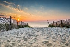 The Beaches Are Beautiful, But Cape May, New Jersey, Also Boasts Fine Dining, Historic Landmarks and Trolley Tours Visit Florida, Florida Beaches, Beach Town, Beach Day, Dewey Beach Delaware, Jersey Day, Sunrise Images, Beach Properties, Hilton Head Island