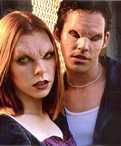 Willow and Xander, vampires in an alternate universe. -- Buffy the Vampire Slayer