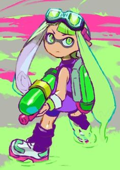 Splatoon Ink