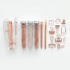 Items similar to Rose Gold Stationery Kit / Stationery Set on Etsy - Rose Gold Stationery Kit / Stationery Set Informationen zu Items similar to Rose Gold Stationery Kit - Gold Room Decor, Study Room Decor, Cute Room Decor, Rose Gold Stationery, Cute Stationery, Rose Gold Rooms, Rose Gold Aesthetic, Cool School Supplies, Office Supplies