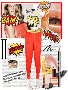 """""""Kaboom, Bam, Pow All the words used to describe my style"""" by holjon2110 ❤ liked on Polyvore"""