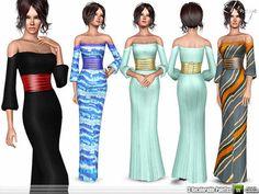ekinege's Off Shoulder Maxi Dress