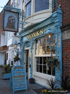 Monks Pub, Portsmouth, England