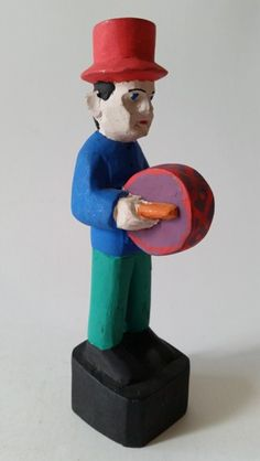 Racar. Figura de Reisado. 15 cm Arte Popular, Popular Art, Art Pop, Puppets, Smurfs, Brazil, Portugal, 3d, Toys