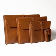 Leather iPad Cases and other sized bags