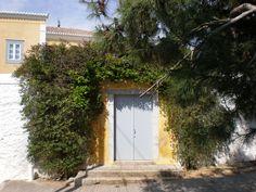 Exterior Walls and Door. Spetses, Greece
