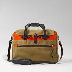 Large Twill Carry-On Travel Bag - Color Block
