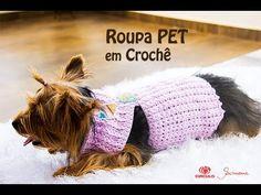Roupa PET de Crochê - Barroco 4 - Prof. Simone Eleotério