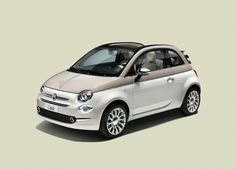 Fiat launches limited edition of 500 to celebrate 60th anniversary of original Fiat 500  This special edition comes with a grey fabric roof and Dolcevita bi-colour paintwork, combining tri-coat white for the body of the car and pastel ivory for the bonnet and pillars.