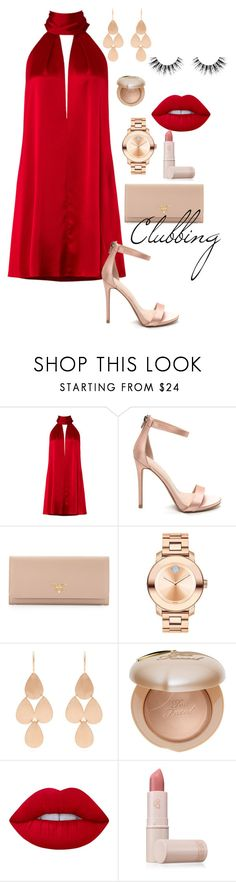 """Inspired by @urdestii. #fashion #club #cute #stylish"" by raquelles ❤ liked on Polyvore featuring Galvan, Prada, Movado, Irene Neuwirth, Too Faced Cosmetics, Lime Crime, Lipstick Queen and Velour Lashes"