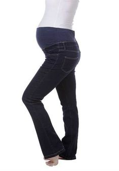 Denim in a long straight cut. Just what pregnant moms have been looking for and it shows as these bootlegs are a firm favourite. The added length with a light flare flatters and balances your shape. The soft fold over waistband with an additional elastic at the top of the foldband is so soft and comfortable that you will live in these jeans. This is a great choice for a curvy shape too as the wider boot-cut balances wider hips and the slight stretch grows with you. Bootleg Jeans, Pregnant Mom, Straight Cut, Fasion, Maternity, Curvy, Denim, Flare, Pants