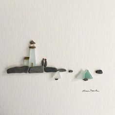 It's like sea glass and pebbles were made to make little Nova Scotia seascapes. I never get tired of making the colourful boats on the water. #novascotia #novascotiaartist #pebbleart #pebbleartist #seaglass #lighthouse #nauticalart #sailing #sailboatlife #maritime #etsymakers #etsyshop #etsyfinds #etsyseller #love #stoneartwork #stoneart #stoneartist