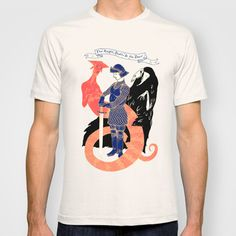 The Knight, Death, & the Devil T-shirt by Andrew Henry - $22.00