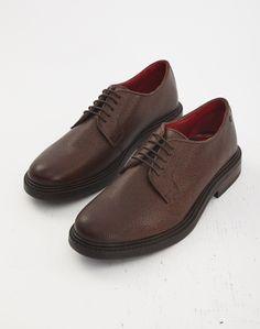 Base London Maudslay Scotch Grain Brown | Shop men's shoes and clothing at The Idle Man Men's Shoes, Dress Shoes, Brown Shoe, Formal Shoes, Derby, Oxford Shoes, Lace Up, Footwear, Man Shop