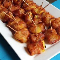 Bacon. Pineapple. Bites. An appetizer that's the perfect combination of tropical and comfort foods.                                                                                                                                                                                 More