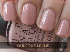 OPI color swatches. Great site featuring their nail colors on a real person! Love this Nude shade