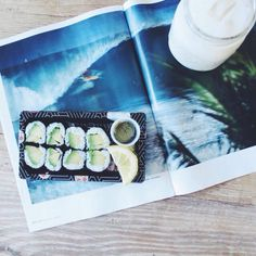 ♡California roll and lemon