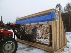 Solar wood dryer...dry in one month, what normally takes 9 months.