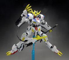 GUNDAM GUY: HG 1/144 Gundam Barbatos Lupus Rex - Painted Build