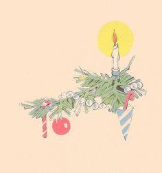 Janet Laura Scott small Christmas tree branch | Flickr - Photo Sharing!