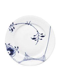 Musselmalet mega blå flad tallerken 27 cm. - Magasin Onlineshop - Køb dine varer og gaver online - Magasin Onlineshop - Køb dine varer og gaver online