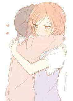 #yuri #anime #hug