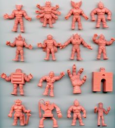 Muscle Men - definitely wouldn't be a part of my childhood memories had it not been for my brother. Vintage Toys 80s, Retro Toys, My Childhood Memories, Childhood Toys, Muscle Toys, Muscle Men Toy, Gi Joe, Mighty Power Rangers, Old School Toys